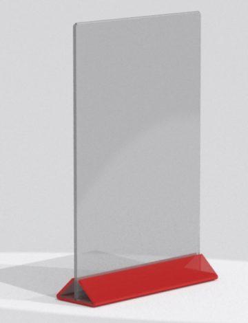 Меню-холдер А4 Цветное основание, арт. 14652
