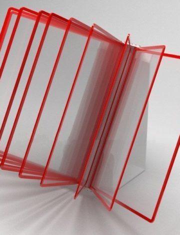 Перекидная система настольная на 10 листов, арт. 63325