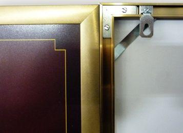 Профиль Nielsen №1, 3,04м, золото глянцевое