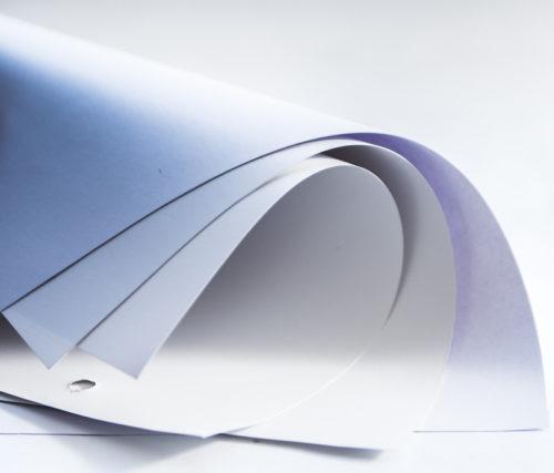 Бумага белая постерная (CityLight), 1,29*100м