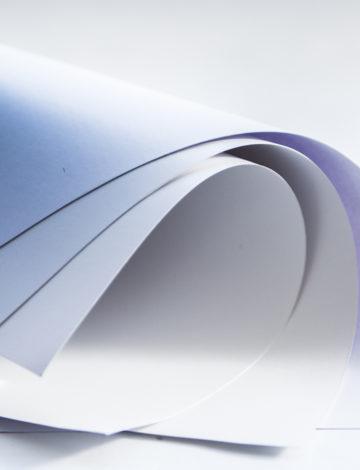 Бумага с синей подложкой (BlueBack), 1,58*100м