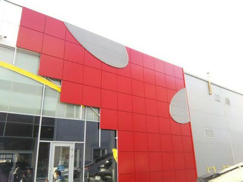 """Алюминиевая композитная панель GoldStar 021 3*1500*4000мм синий """"пепси"""" (G5002)"""