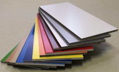 Алюминиевая композитная панель GoldStar 021 3*1220*4000мм чёрный (G9005)