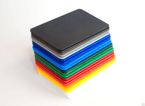 Ударопрочный полистирол GEBAU 2*2000*3000мм цветной