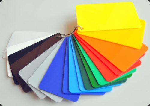 Ударопрочный полистирол GEBAU 3*2000*3000мм цветной