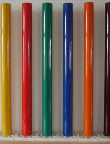 Пленка светоотражающая Vikulux 3150 1,24*50м желтая