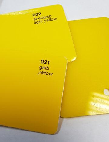 Литое оргстекло Rexglass 3*2050*3050 жёлтое (# 235)