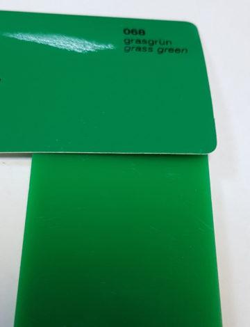 Литое оргстекло Rexglass 3*2050*3050 зелёное (# 347)