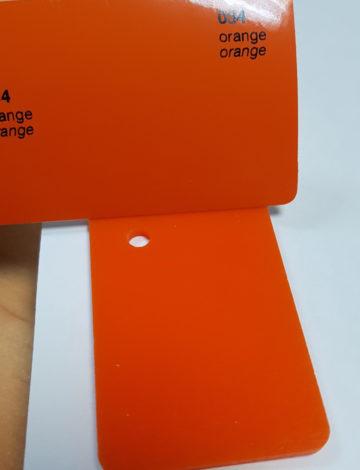 Литое оргстекло Rexglass 3*2050*3050 оранжевое (# 266)