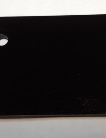 Литое оргстекло Rexglass 3*2050*3050 чёрное (# 502)
