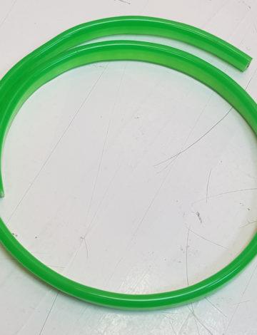 Тонкий неон 12V, цвет зелёный DL-NEONTHIN-12-B-25mm-TS