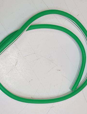 Тонкий неон 12V, цвет зелёный DL-NEONTHIN-12-G-SILIKON816-DL