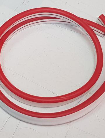Тонкий неон 12V, цвет красный DL-NEONTHIN-12-R-SILIKON816-DL