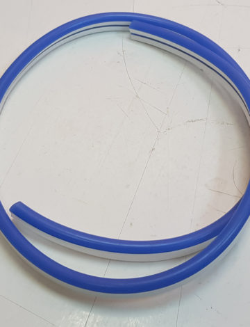 Тонкий неон 12V, цвет синий DL-NEONTHIN-12-B-SILIKON816-DL