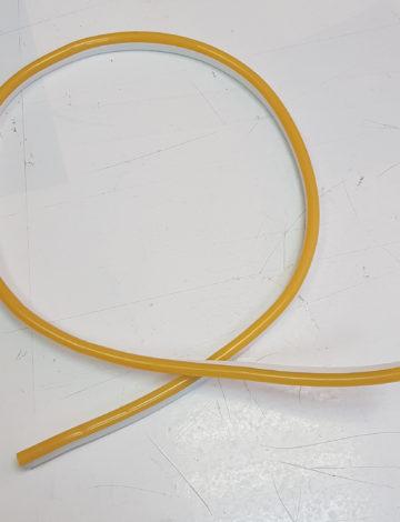 Тонкий неон 220V, цвет жёлтый DL-NEONTHIN-220-Y-DL